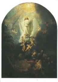 De hemelvaart van Christus, Rembrandt