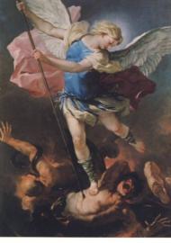 Heilige Michael, Luca Giordano