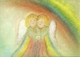 Juni engel, maandkaart Eriena Blaffert