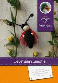 Patroonblad Lieve heerbeest en Vlinder