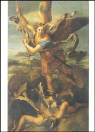 Heilige Michael de draak dodend, Rafael