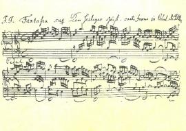Komm, heiliger Geist, Johan Sebastian Bach