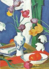 Tulpen en fruit, Samuel John Peploe