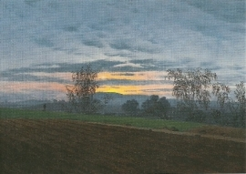 Geploegde akker, Caspar David Friedrich