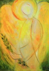 Engel met levenstwijg, Christel Holl