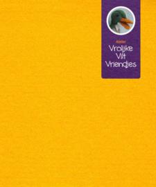 Wolvilt donker geel 17