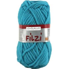 Filzi 100% viltwol 50 gram / bol kleur 048 licht turquoise
