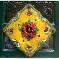 Herfst mandala (zelfmaakpakketje)