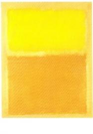 Oranje en geel, Mark Rothko