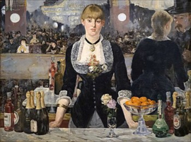 Bar in Folies-Bergère, Edouard Manet
