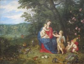 Rust op de vlucht naar Egypte, Jan Brueghel
