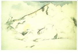 Montagne Sainte-Victoire, Paul Cezanne