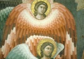 Engelen bij het laatste oordeel, P. Cavallini
