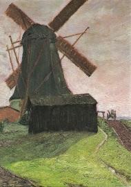 Historische Worpsweder molen, Fritz Mackensen