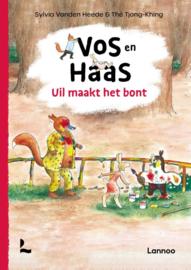 Vos en haas, uil maakt het bont / Sylvia van den Heede