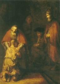 Terugkeer van de verloren zoon, Rembrandt