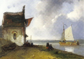 Riviergezicht Johan Barthold Jongkind