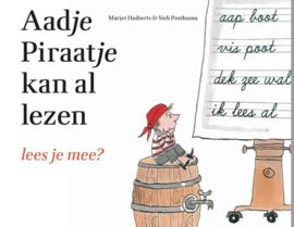 Aadje Piraatje kan al lezen / Marjet Huiberts