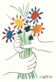 Handen met bloemen, Pablo Picasso