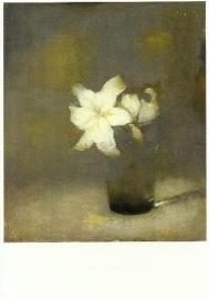 Glas met lelie, Jan Mankes