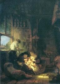 De heilige familie, Rembrandt