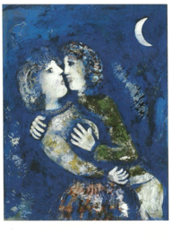Verliefd paar, Marc Chagall