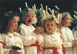 Sint Lucia (gapend meisje), G. Stenberg