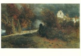 Herfst en dood, Arnold Böcklin