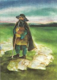 Herder met schapen, Johanna Schneider