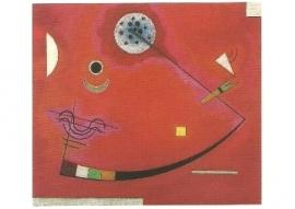 Gespannen in een hoek, Wassily Kandinsky