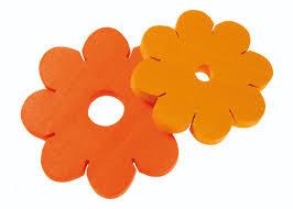 knoopbloem geel/oranje