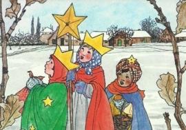 Driekoningen met een ster, Rie Cramer