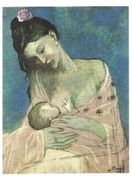 Moeder en kind 2, Pablo Picasso