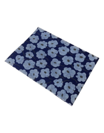 Olino Paperworks, Notebook met Blossom print, Blauw