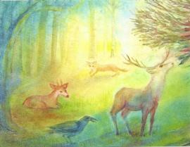 Wei in het bos, Janneke Rosenbrand