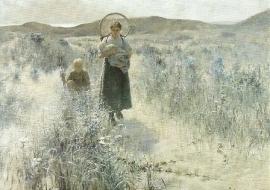Moederschap, George Hitchcock