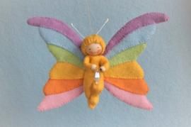 Regenboogvlinder (zelfmaakpakketje)