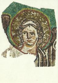 Mozaiekfragment met een engel, Ravenna