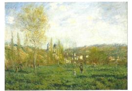 Lente te Vétheuil, Claude Monet