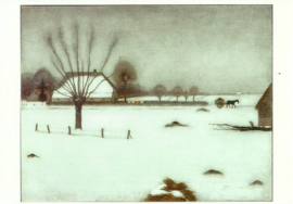 Winter in Eerbeek, Jan Mankes