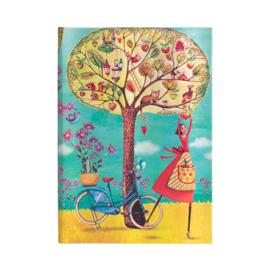 Autumn Apples Midi, notebook Paperblanks