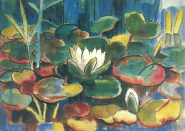 Waterlelies, Karl Schmidt-Rottluff