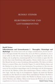 Selbsterkenntnis und Gotteserkenntnis I GA 90a  / Rudolf Steiner