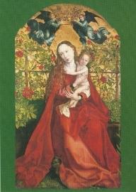 Madonna in rozenhaag, Martin Schongauer