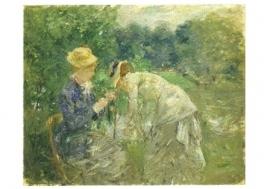 In het Bois de Boulogne, Berthe Morisot