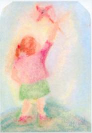 Meisje met windmolen, Hannelore Jach