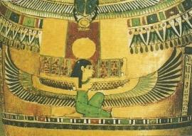 Gevleugelde Isis, Egyptisch