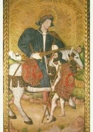 Sint Maarten, Gotische schildering, XV eeuw