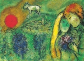 Geliefden in Venetië, Marc Chagall