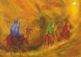 Wijzen uit het Oosten volgen de ster, Marjan van Zeyl